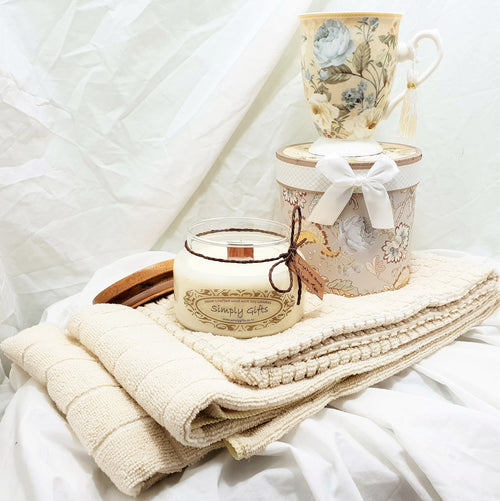 Tea - Tea Mug And Candle Gift