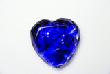 Broken Wedding Glass Heart. Customized Heart  with Wedding Glass.  You can also add your Names and Wedding Date,