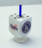 Los Angeles Chargers Dreidel with stand. Customized Sports Dreidel.  D-090