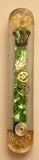 Hand Crafted Mezuzah for the Doorpost of your Home. One of a Kind Judaica Art # M-025