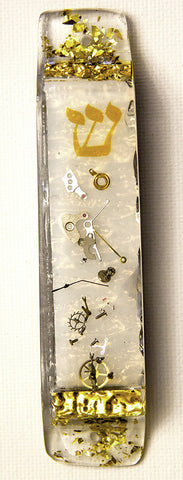 Hand Crafted Mezuzah.  Request a Custom Mezuzah.  (This Mezuzah sold out)