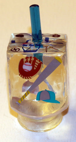 * ORDER A CUSTOM SPORT DREIDEL WITH YOUR FAVORITE TEAM, PET DREIDEL, FAMILY DREIDEL OR OTHER CUSTOM DREIDEL.