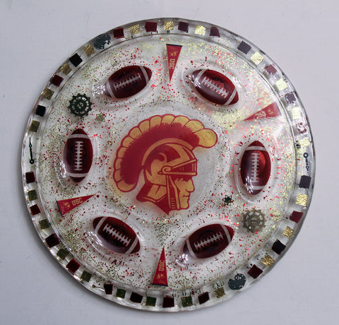 Can Be Customized with your favorite Team.  Sports Seder Plate.  Football Seder Plate