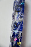 Broken Wedding Glass Mezuzah. Customized Mezuzah.  One Custom Mezuzah with Wedding Glass.  You can also add your Names and Wedding Date.