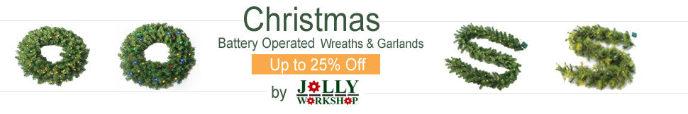 Jolly Workshop Wreaths & Garlands Deals