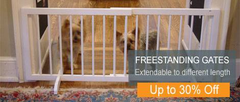Freestanding Pet Gate Deals