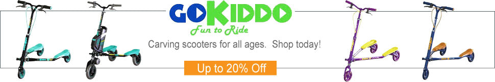 Go-Kiddo Carving Scooter Deals