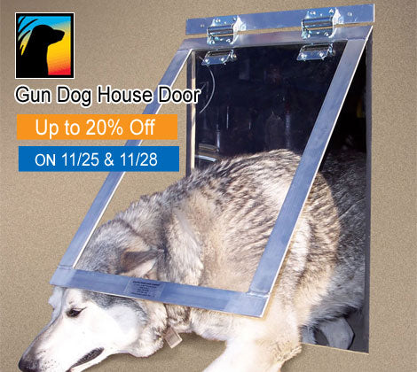 Gun Dog House Door Black Friday Deals