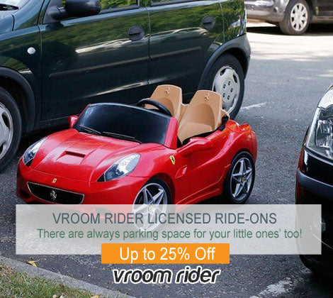 Vroom Rider Licensed Ride-On Deals
