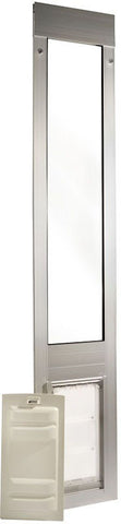 Patio Pacific 01ppc06-ps Thermo Panel 3e - Small with Endura Flap - 74.75-77.75, satin frame - Peazz.com - 1
