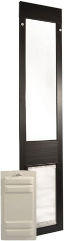 Patio Pacific 01ppc06-qb Thermo Panel 3e - Small with Endura Flap - 77.25-80.25, bronze frame - Peazz.com - 1