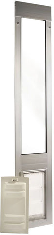 Patio Pacific 01ppc06s-qs Quick Panel 3 - Small with Endura Flap - 77.25-80.25, satin frame - Peazz.com - 1