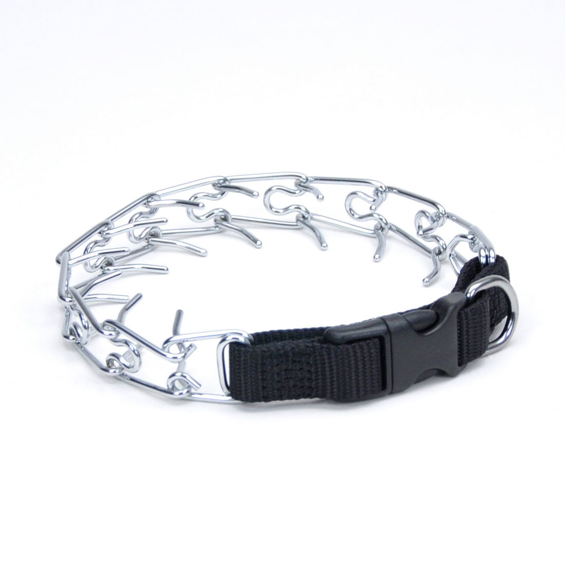 Coastal Pet Products 05592-blk18 Titan Easy-on Dog Prong Training Collar With Buckle