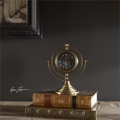 Uttermost Almonzo Table Clock (06430) - UTMDirect