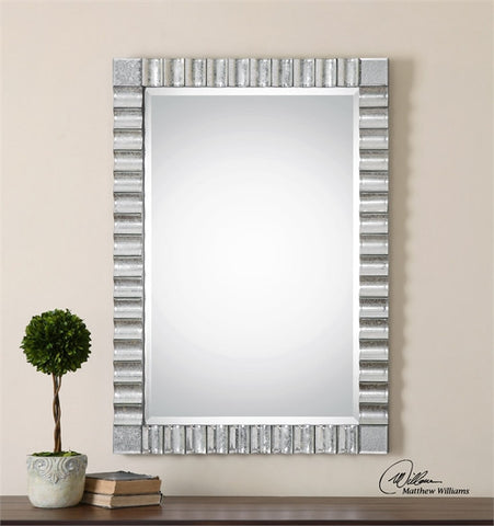 Uttermost Amisos Scalloped Wall Mirror (08144) - UTMDirect