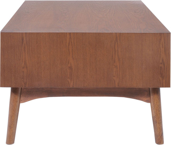 Zuo 100091 Design District Coffee Table Walnut 100091