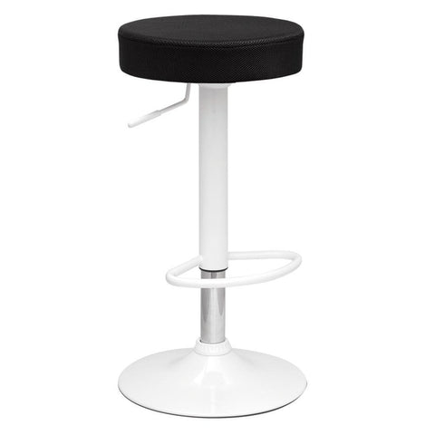 Fine Mod Imports FMI10020-black Angle Bar Stool, Black - Peazz Furniture