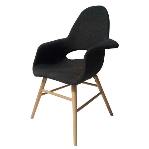 Fine Mod Imports FMI10033-gray Eero Dining Chair, Gray - Peazz.com - 1