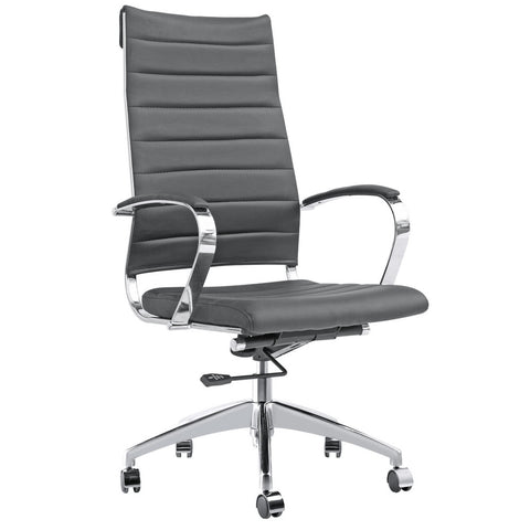 Fine Mod Imports FMI10078-black Sopada Conference Office Chair High Back, Black - Peazz.com - 1