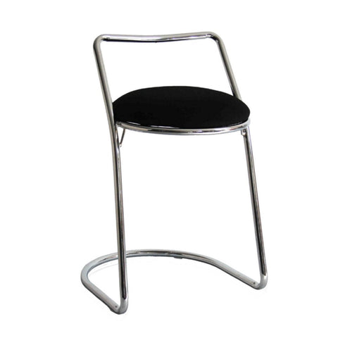 Fine Mod Imports FMI10168-black Sled Bar Stool, Black - Peazz Furniture - 1