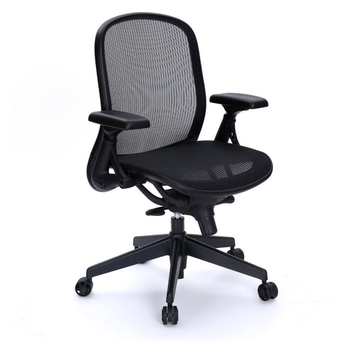 Fine Mod Imports FMI10181-black Lifestyle Office Chair - Peazz.com - 1