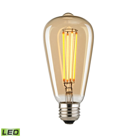 ELK Lighting 1110 Filament Collection Light Gold Tint Finish - PeazzLighting