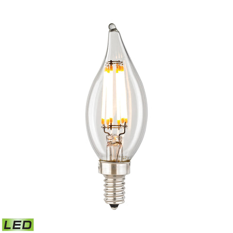 ELK Lighting 1112 Filament Collection Clear Finish - PeazzLighting