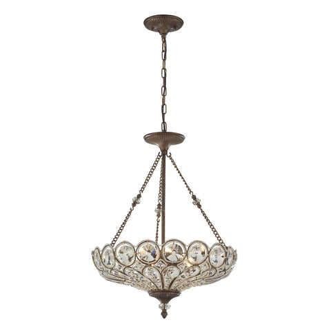 ELK Lighting 12024/5 Christina Collection Mocha Finish - PeazzLighting