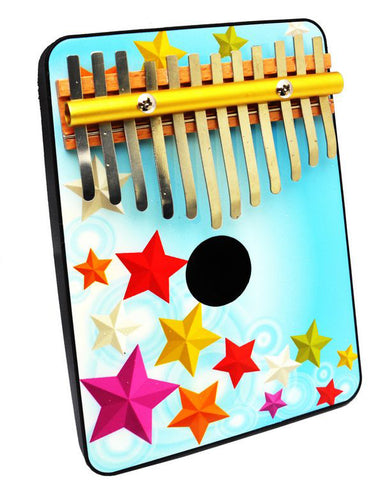 Schoenhut 1204SG Stars 12 Note Thumb Piano Multi - Peazz.com