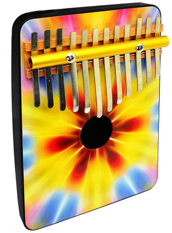Schoenhut 1204TD Tie Dye 12 Note Thumb Piano Multi - Peazz.com