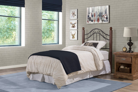 Hillsdale 1010HTWR Madison Headboard - Twin - w/Rails