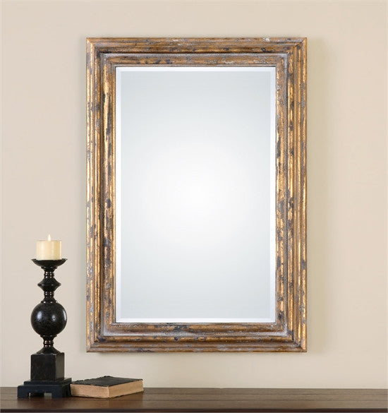 Uttermost Davagna Gold Leaf Mirror (12896)