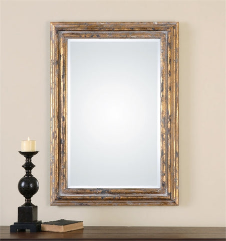 Uttermost Davagna Gold Leaf Mirror (12896) - UTMDirect
