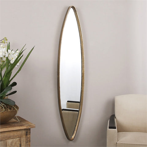 Uttermost Belsito Oxidized Gold Oval Mirror (12938) - UTMDirect