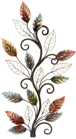 Benzara 13412 Metal Walldecor Brings The Nature To Your Rooms