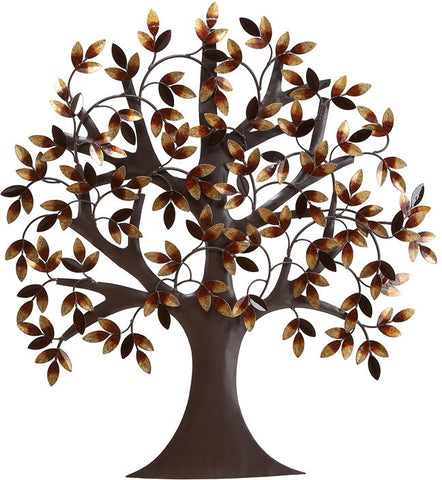 Benzara 13862 Metal Tree Wall Decor For Elite Class Decor Enthusiasts