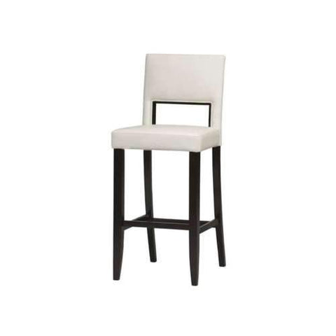 Linon 14054WHT-01-KD-U Vega Bar Stool White 30