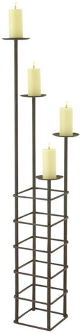"Bayden Hill Mtl Candle Holder 12""W, 59""H - Peazz.com"