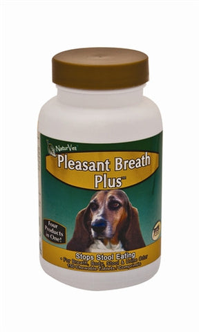 Natur Vet 16021 NaturVet Pleasant Breath Plus, 150 Tablets - Peazz.com