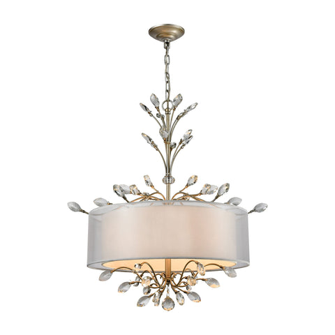 ELK Lighting 16282/4 Asbury Collection Aged Silver Finish - PeazzLighting