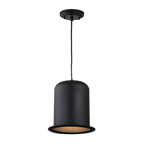 ELK Lighting 17196/1 Chapeau Collection Matte Black Finish - PeazzLighting