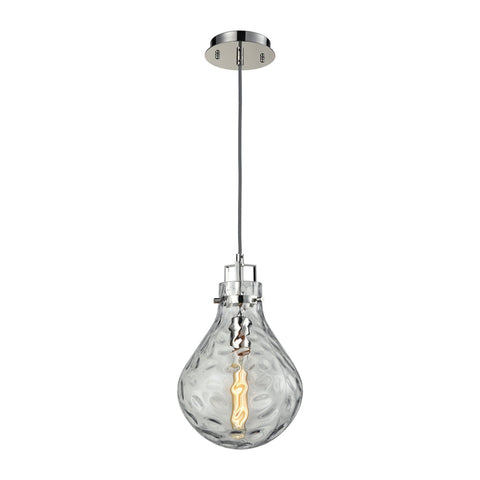 ELK Lighting 17651/1 Dewdrop Collection Polished Chrome Finish - PeazzLighting