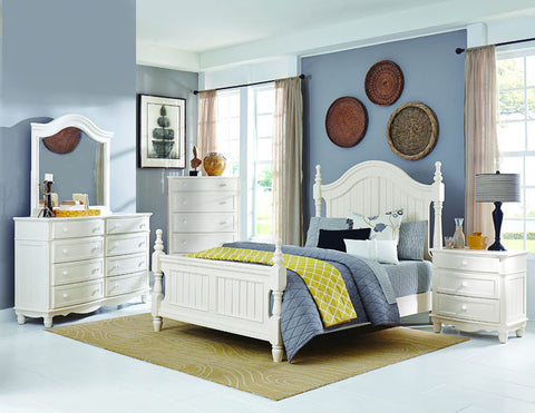 Homelegance 1799-4 Clementine Collection Color White - Peazz.com