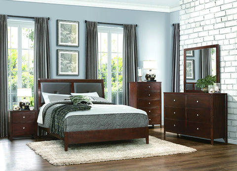 Homelegance 1855-1 Cullen Collection Color Tobaco Brown - Peazz.com