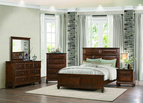 Homelegance 1870-4 Bardwell Collection Color Rustic Dark Oak - Peazz.com