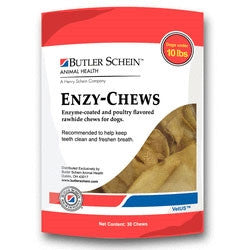 Butler Schein 19014 Butler Schein Enzychews For Dogs Under 10 Lbs, 30 Chews Red
