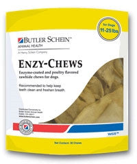Butler Schein 19015 Butler Schein Enzychews For Dogs 1125 Lbs, 30 Chews Yellow