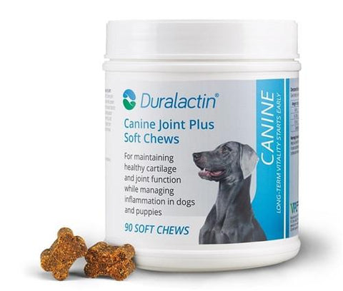 VPL 19048 Duralactin Canine Joint Plus Soft Chews, 90 Count - Peazz Pet