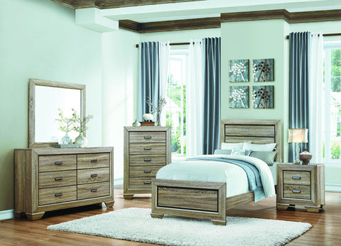 Homelegance 1904T-1 Beechnut Collection Color Light Elm - Peazz.com