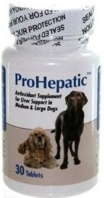 Aho 19090 Prohepatic Liver Support Medium Dogs, 30 Tablets